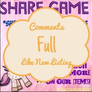 Other - Listing FULL!! Like new share listing!!!